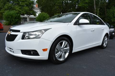 2014 Chevrolet Cruze for sale at Apex Car & Truck Sales in Apex NC