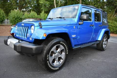 2015 Jeep Wrangler Unlimited for sale at Apex Car & Truck Sales in Apex NC