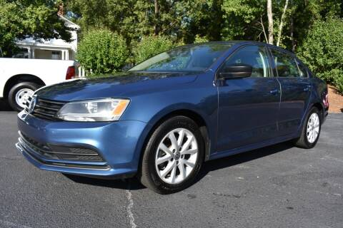 2015 Volkswagen Jetta for sale at Apex Car & Truck Sales in Apex NC
