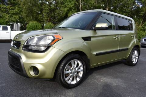 2012 Kia Soul for sale at Apex Car & Truck Sales in Apex NC