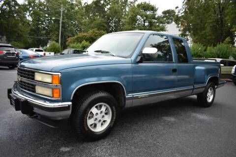 1992 Chevrolet C/K 1500 Series for sale at Apex Car & Truck Sales in Apex NC