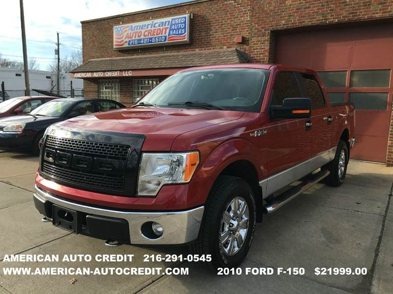 2010 Ford F-150 XLT 4x4 4dr SuperCrew Styleside 5.5 ft. SB - Cleveland OH