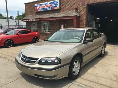 Used 2002 Chevrolet Impala For Sale In Topeka KS