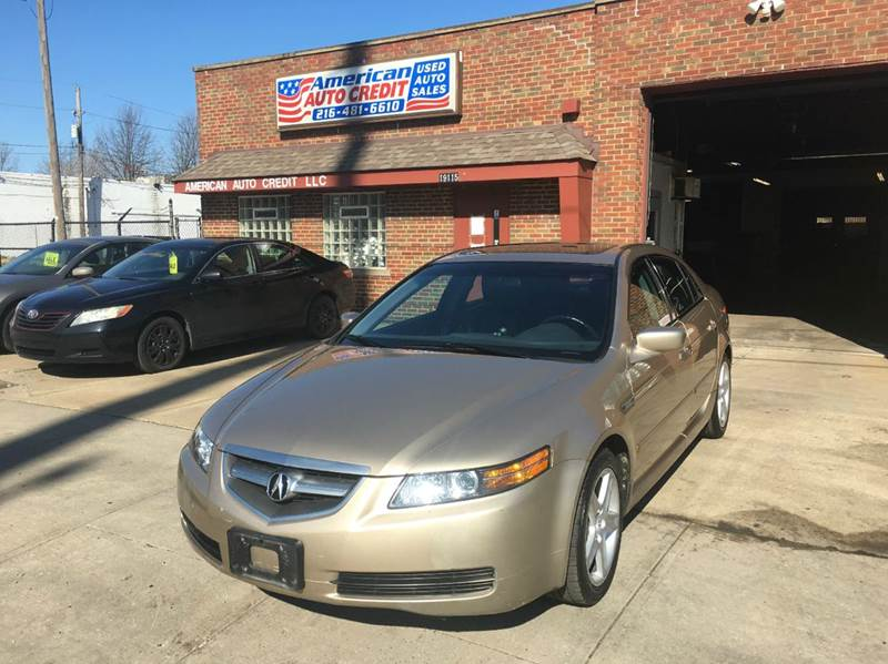 Acura Tl Dr Sedan In Cleveland OH AMERICAN AUTO CREDIT - 2004 acura tl for sale by owner