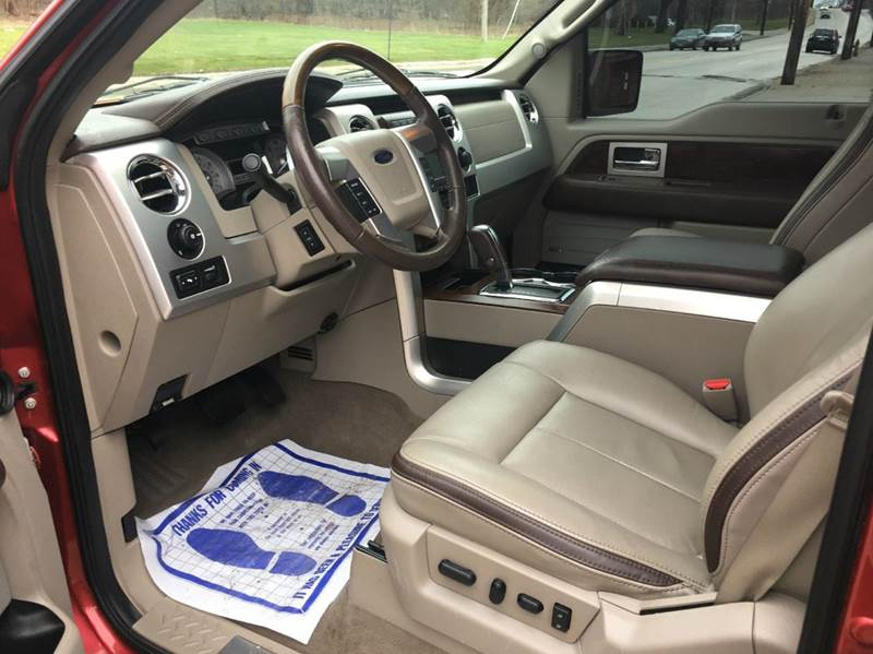 2010 Ford F-150 4x4 Platinum 4dr SuperCrew Styleside 5.5 ft. SB - Cleveland OH