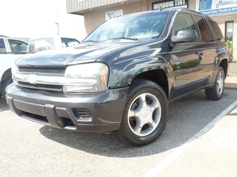 2006 Chevrolet TrailBlazer for sale at Flywheel Motors, llc. in Olive Branch MS
