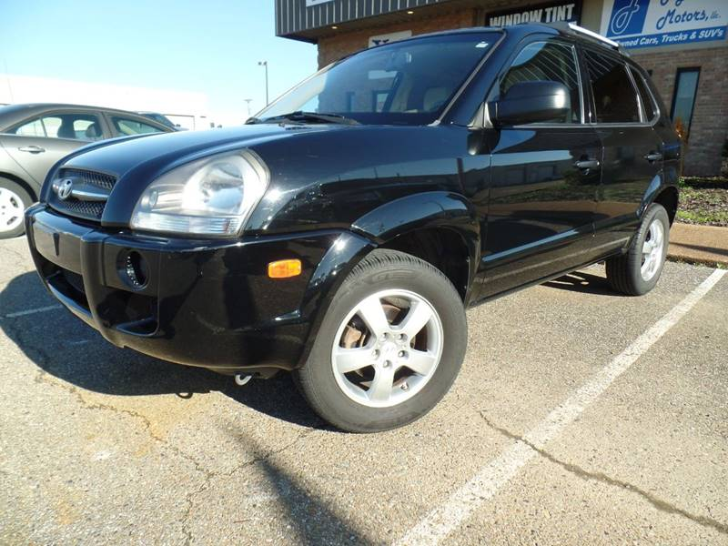 2008 Hyundai Tucson for sale at Flywheel Motors, llc. in Olive Branch MS