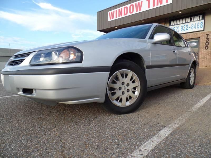 2002 Chevrolet Impala for sale at Flywheel Motors, llc. in Olive Branch MS