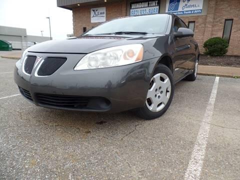 2006 Pontiac G6 for sale at Flywheel Motors, llc. in Olive Branch MS