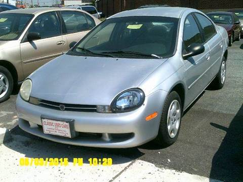 2001 Dodge Neon for sale in Baltimore, MD