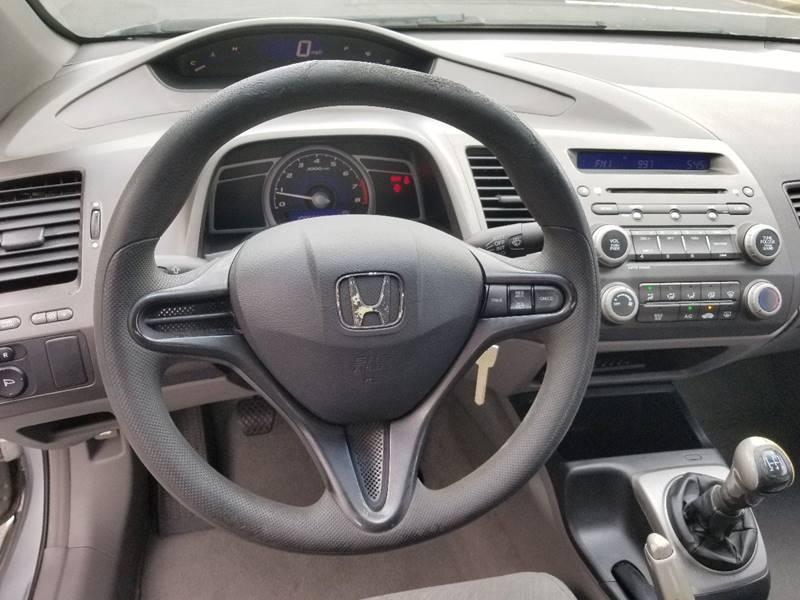 2007 Honda Civic LX 2dr Coupe (1.8L I4 5M) In Marietta GA - MPG Cars