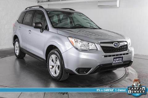 2016 Subaru Forester for sale in Austin, TX