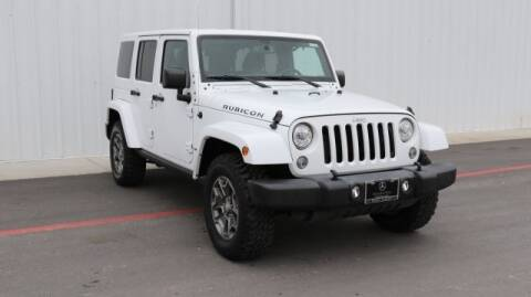 2017 Jeep Wrangler Unlimited for sale at Continental Automotive Group Austin Subaru in Austin TX