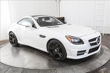 2015 Mercedes-Benz SLK for sale in Austin, TX