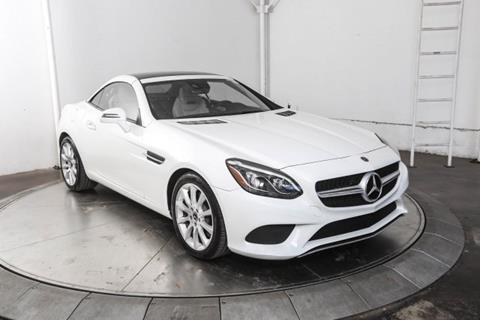 2017 Mercedes-Benz SLC for sale in Austin, TX