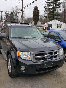 2008 Ford Escape for sale at GALANTE AUTO SALES LLC in Aston PA