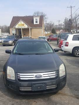 2007 Ford Fusion for sale at GALANTE AUTO SALES LLC in Aston PA