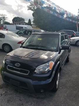 2011 Kia Soul for sale at GALANTE AUTO SALES LLC in Aston PA