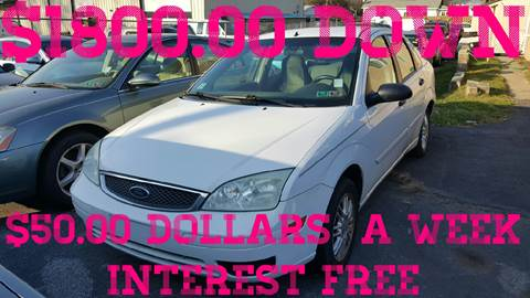 2005 Ford Focus for sale at GALANTE AUTO SALES LLC in Aston PA