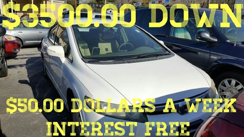 2006 Honda Civic for sale at GALANTE AUTO SALES LLC in Aston PA