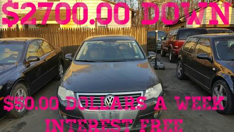 2007 Volkswagen Passat for sale at GALANTE AUTO SALES LLC in Aston PA