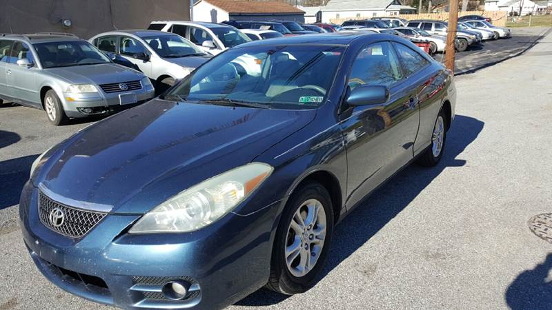 2007 Toyota Camry Solara for sale at GALANTE AUTO SALES LLC in Aston PA