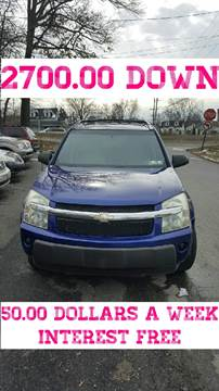 2005 Chevrolet Equinox for sale at GALANTE AUTO SALES LLC in Aston PA