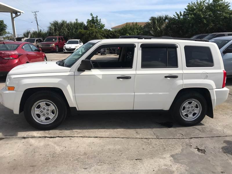 2008 Jeep Patriot 4x4 Sport 4dr Suv W Cj1 Side Airbag Package In