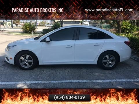 Paradise Auto Sales >> Chevrolet Used Cars Pickup Trucks For Sale Pompano Beach
