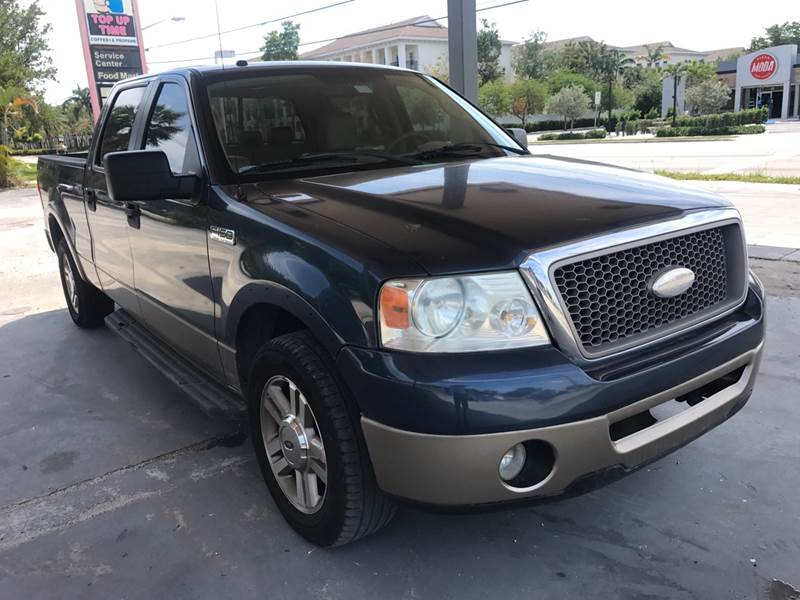 2006 Ford F 150 Lariat 4dr Supercrew Styleside 5 5 Ft Sb In Pompano