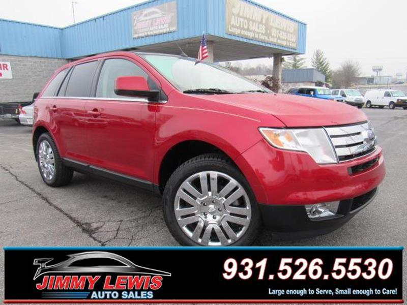 Lewis Auto Sales >> 2010 Ford Edge Limited In Cookeville Tn Jimmy Lewis Auto Sales