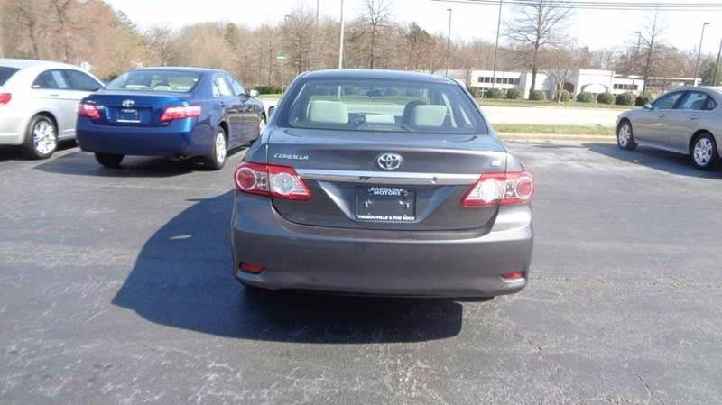 2013 Toyota Corolla for sale at Carolina Motors at the Rock in Rockingham NC