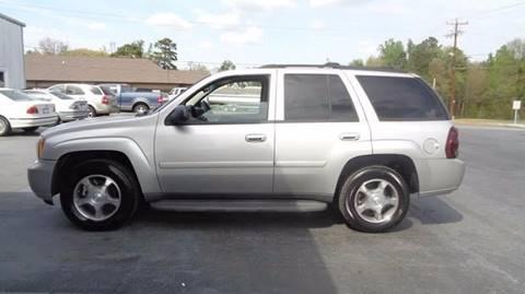 2008 Chevrolet TrailBlazer for sale at Carolina Motors at the Rock in Rockingham NC
