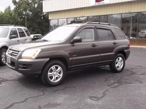 2005 Kia Sportage for sale at Carolina Motors at the Rock in Rockingham NC