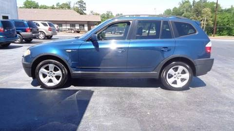 2004 BMW X3 for sale at Carolina Motors at the Rock in Rockingham NC