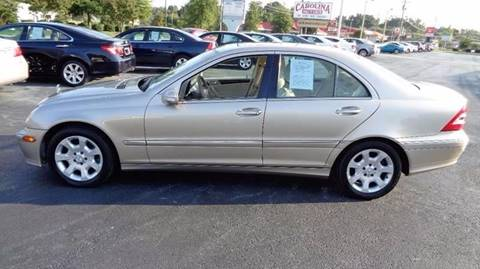 2005 Mercedes-Benz C-Class for sale at Carolina Motors at the Rock in Rockingham NC