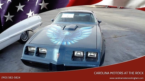 1979 Pontiac Trans Am for sale in Rockingham, NC