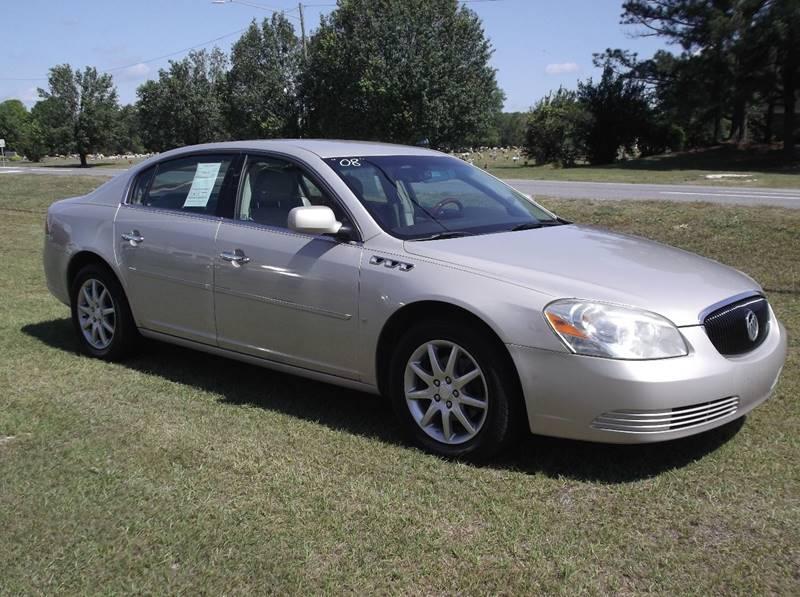 2008 Buick Lucerne for sale at Carolina Motors at the Rock in Rockingham NC