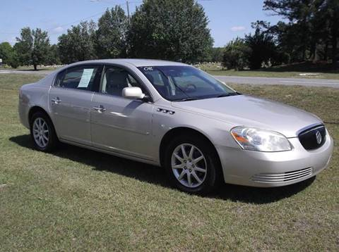 2008 Buick Lucerne for sale at Carolina Motors at the Rock in Rockingham NC