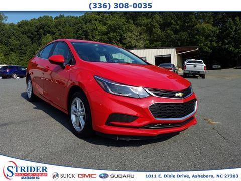 2017 Chevrolet Cruze for sale in Asheboro, NC