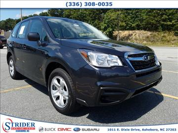 2018 Subaru Forester for sale in Asheboro, NC