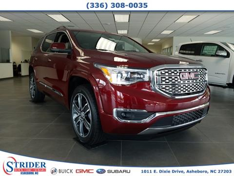 2018 GMC Acadia for sale in Asheboro, NC