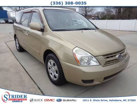 2010 Kia Sedona for sale at STRIDER BUICK GMC SUBARU in Asheboro NC