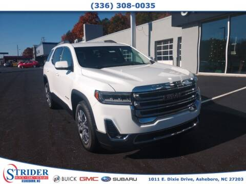 2020 GMC Acadia for sale at STRIDER BUICK GMC SUBARU in Asheboro NC