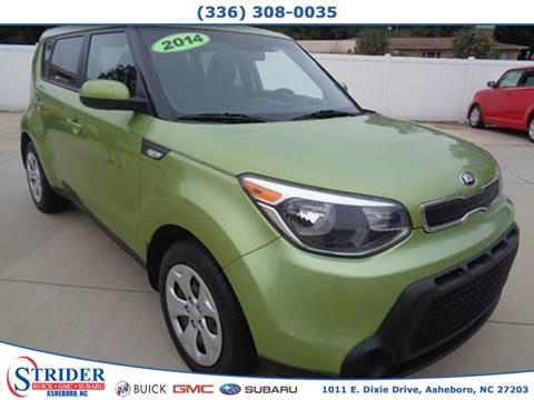 2014 Kia Soul for sale at STRIDER BUICK GMC SUBARU in Asheboro NC