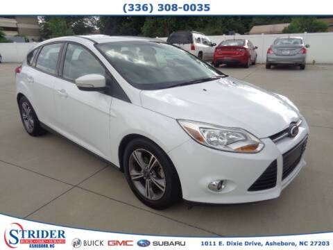2014 Ford Focus for sale at STRIDER BUICK GMC SUBARU in Asheboro NC
