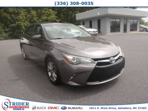 2017 Toyota Camry for sale at STRIDER BUICK GMC SUBARU in Asheboro NC