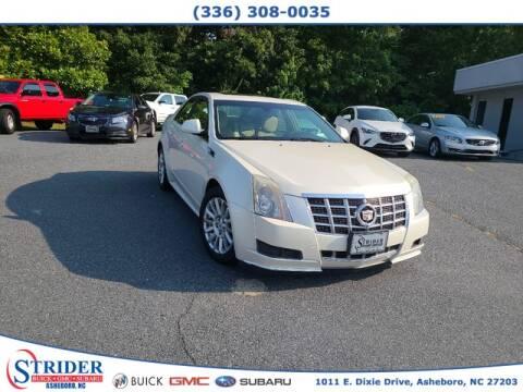 2013 Cadillac CTS for sale at STRIDER BUICK GMC SUBARU in Asheboro NC