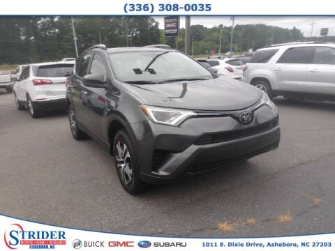 2018 Toyota RAV4 for sale at STRIDER BUICK GMC SUBARU in Asheboro NC