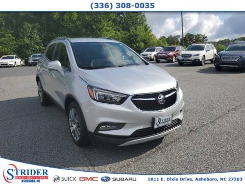 2017 Buick Encore for sale at STRIDER BUICK GMC SUBARU in Asheboro NC